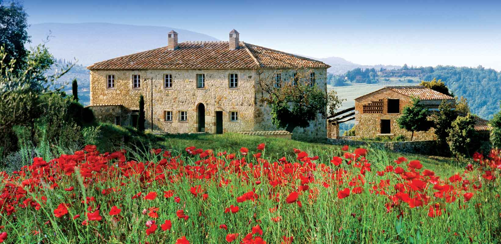 luxury vacation at Castello di Casole in Tuscany