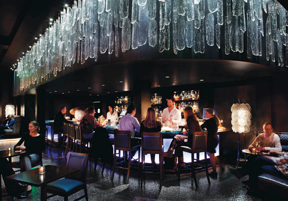 Frost Bar at The Sebastian - Vail luxury hotel