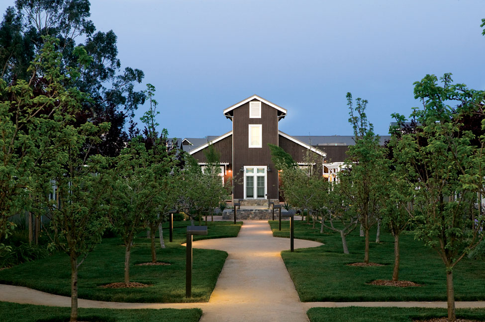 The orchard at the carneros inn timbers resorts for Farm at carneros inn