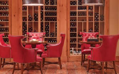 One Steamboat Place - Owner Wine Storage