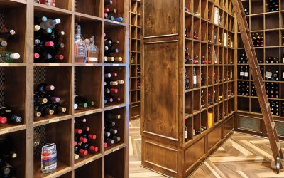 Timbers Bachelor Gulch - Owner Wine Storage