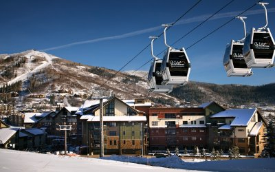 Wildhorse gondola at One Steamboat Place