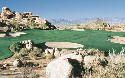 The golf course at The Rocks Club