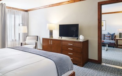 Two bedroom executive suite