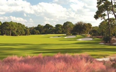 The golf course at Timbers Jupiter